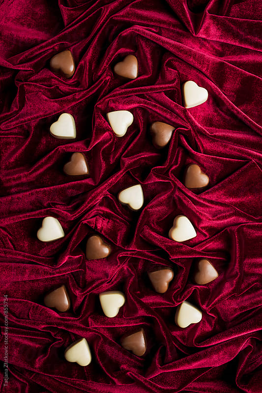 Heart shaped pralines by Tatjana Ristanic for Stocksy United
