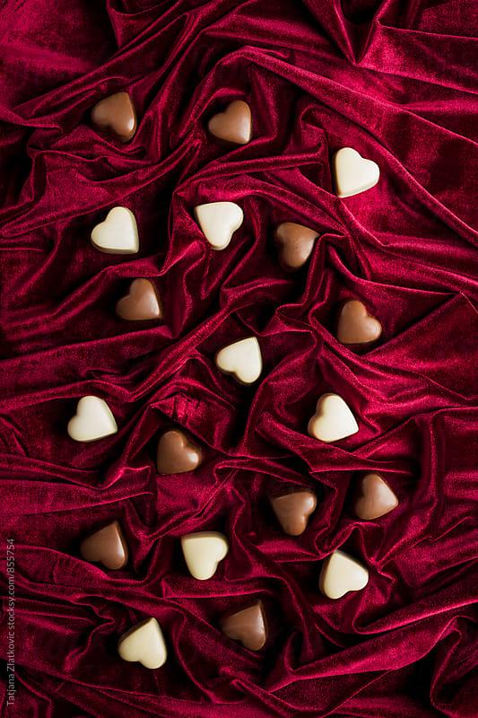 Heart shaped pralines by Tatjana Zlatkovic for Stocksy United