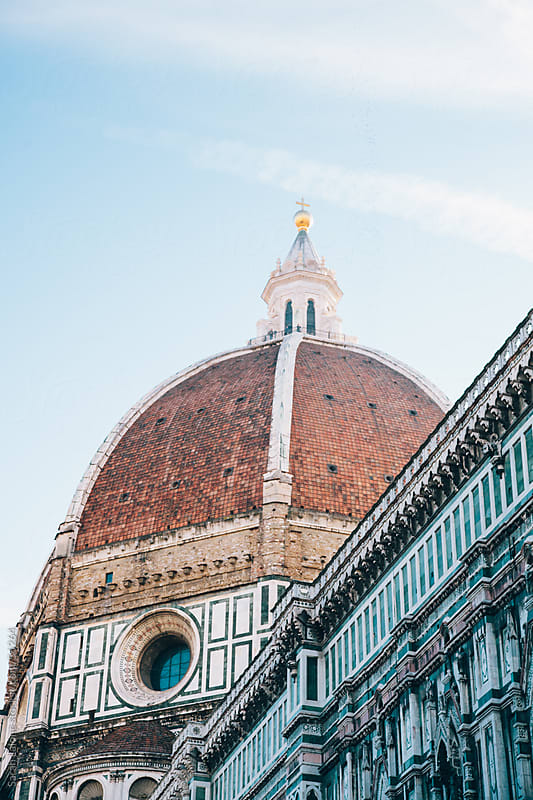 The Duomo in Florence early in the morning. by Sarah Lalone for Stocksy United