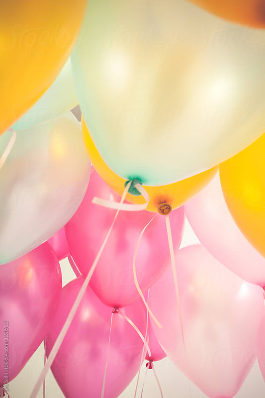 balloons by jira Saki for Stocksy United