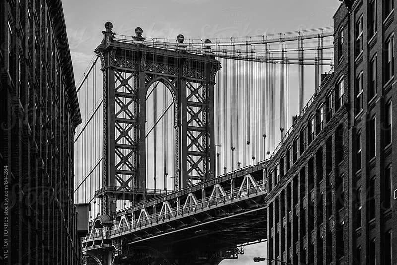 Manhattan Bridge, New York by Victor Torres for Stocksy United