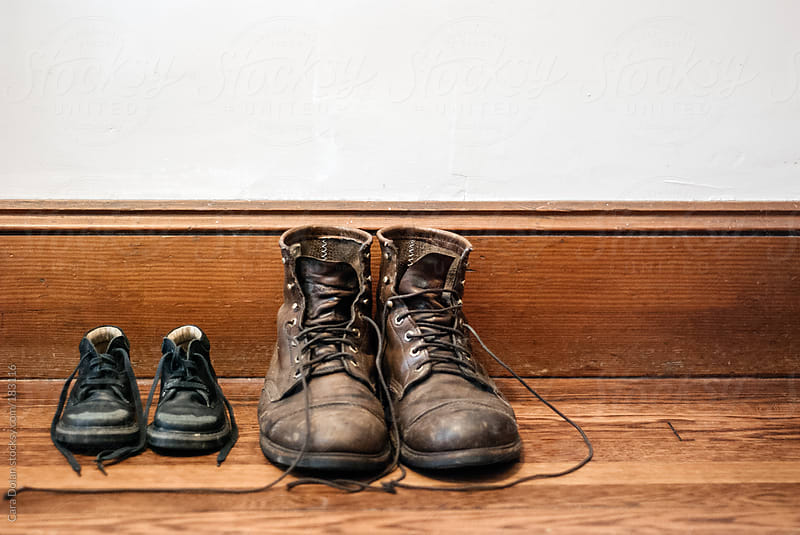Big boots, little boots by Cara Dolan for Stocksy United