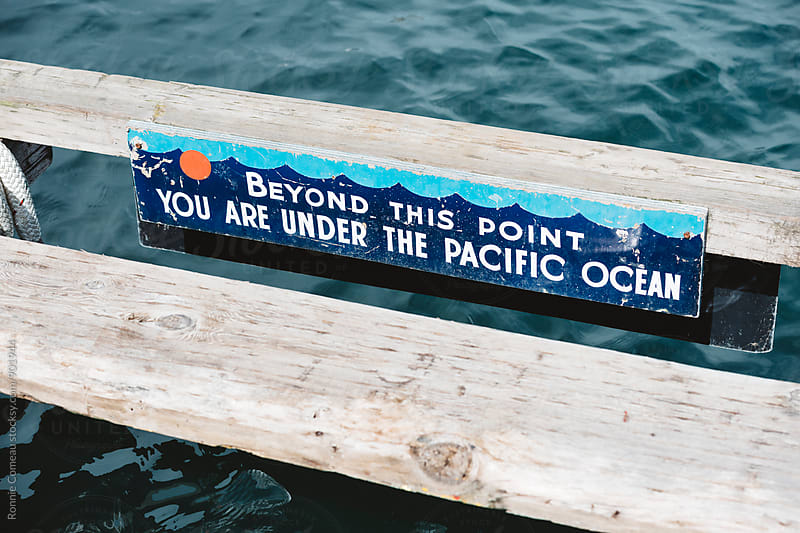 Entering The Pacific Ocean by Ronnie Comeau for Stocksy United