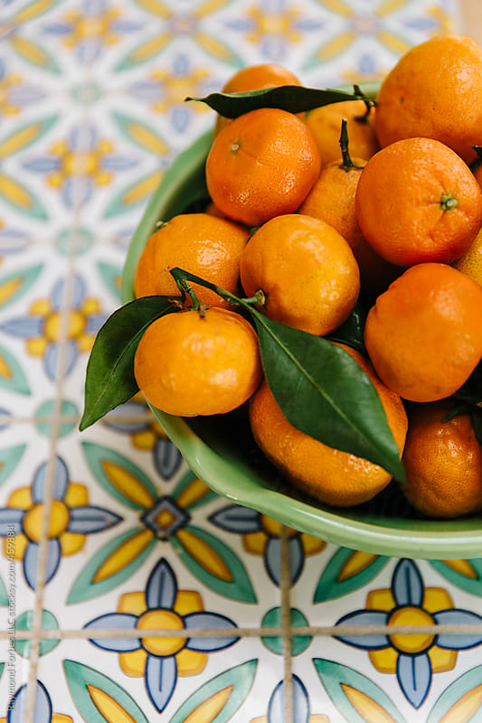 Clementines in Bowl by Raymond Forbes LLC for Stocksy United
