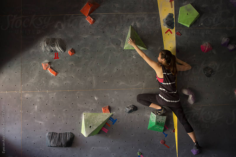 Free Climbing Training by Felix Hug for Stocksy United