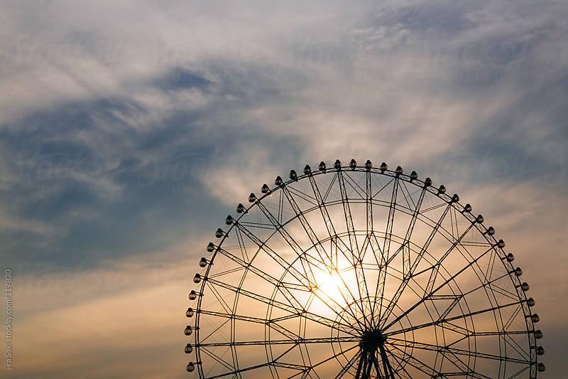 ferris wheel by jira Saki for Stocksy United
