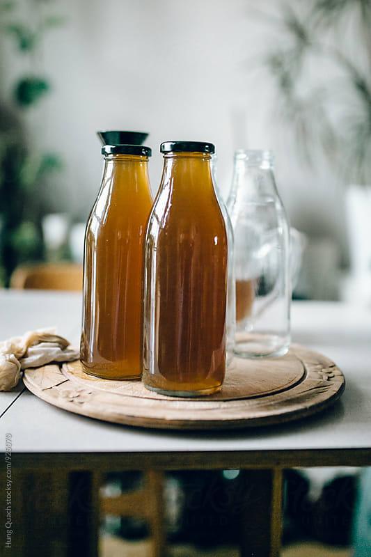 Making Elderflower Syrup by Hung Quach for Stocksy United