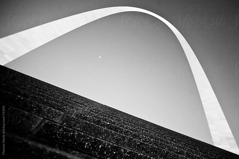 St. Louis Gateway Arch by Thomas Hawk for Stocksy United