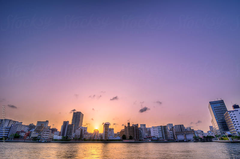 The Colored Skies of Tokyo by Leslie Taylor for Stocksy United