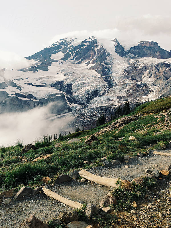 Path to Mt Rainier by Kevin Russ for Stocksy United