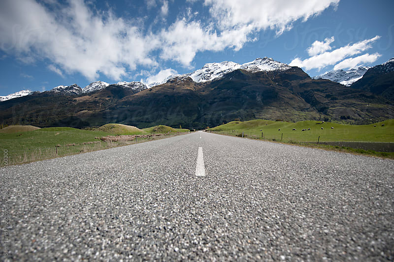 New Zealand Road by Sam Hurd Photography for Stocksy United