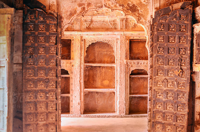 Doorway In India by Alexander Grabchilev for Stocksy United