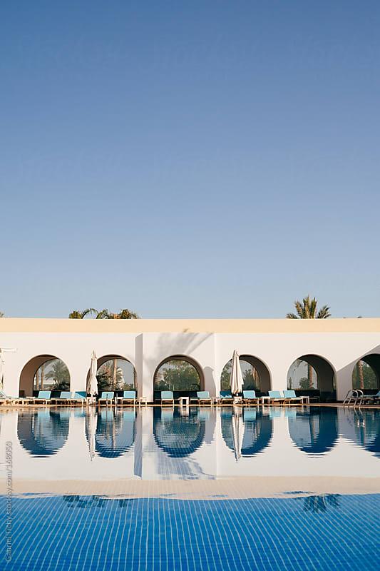 Swimming pool by Gabriel Tichy for Stocksy United