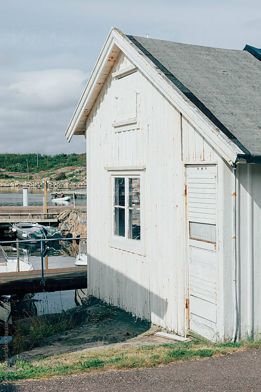 Boat house by Daniel Wirgård for Stocksy United