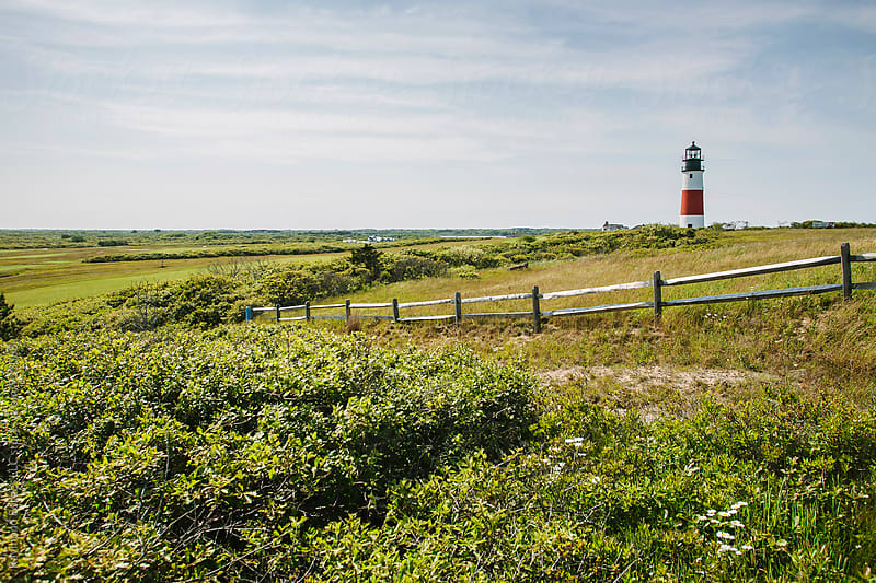 Nantucket Lighthouse by Raymond Forbes LLC for Stocksy United