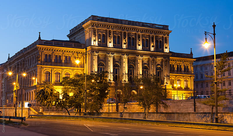 The Hungarian Academy of Sciences by Gergely Kishonthy for Stocksy United