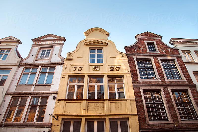 18th century belgium buildings by Sonja Lekovic for Stocksy United