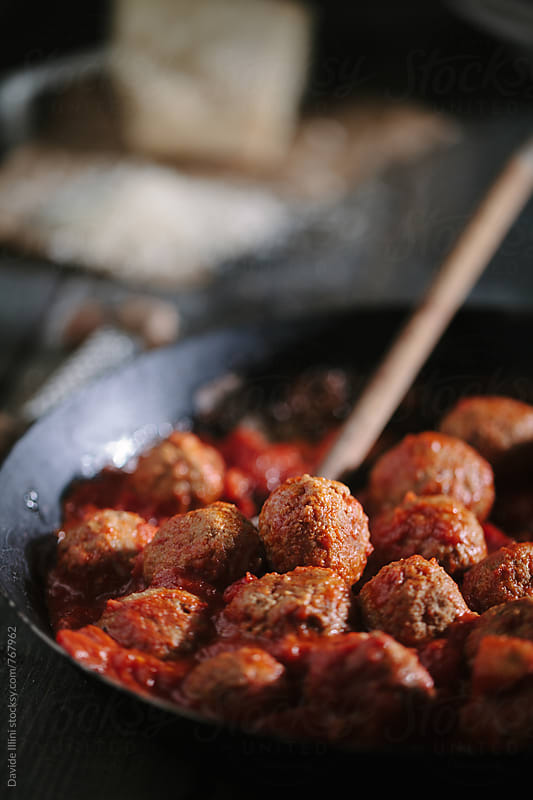 Meatballs by Davide Illini for Stocksy United