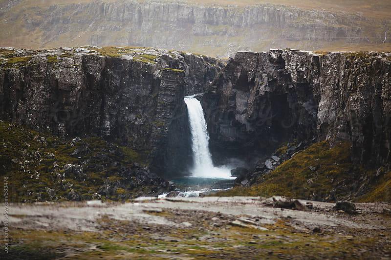 Folaldafoss waterfall, Iceland by Luca Pierro for Stocksy United