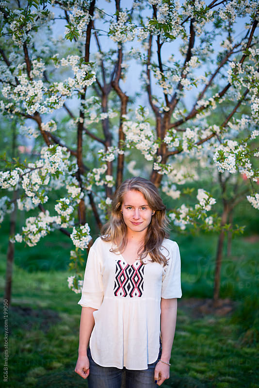 Spring portrait  by RG&B Images for Stocksy United