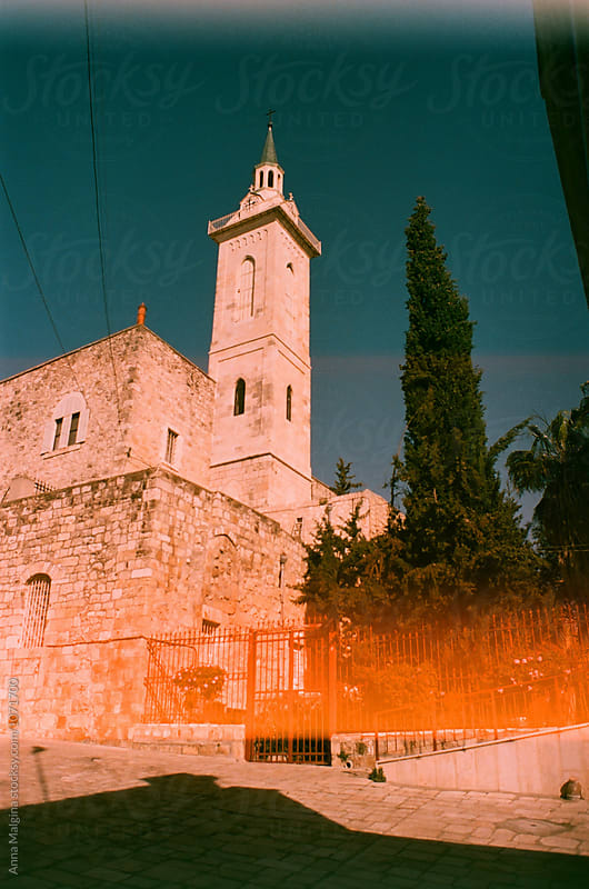 A church in Jerusalem by Anna Malgina for Stocksy United
