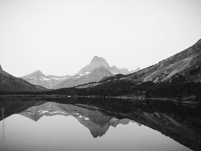 Swiftcurrent Lake by Kevin Gilgan for Stocksy United