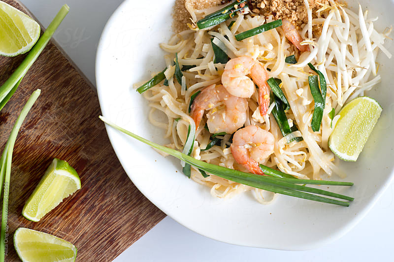 Pad thai  by Alita Ong for Stocksy United