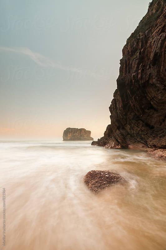 Sunrise on the coastline by Marilar Irastorza for Stocksy United