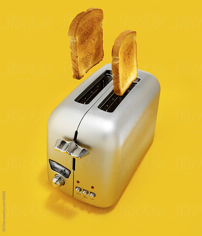 Popping Toast by Jill Chen for Stocksy United