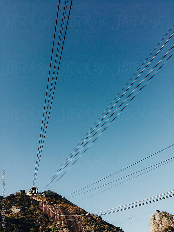 Rio de Janeiro's Sugarloaf Cable Car by VISUALSPECTRUM for Stocksy United