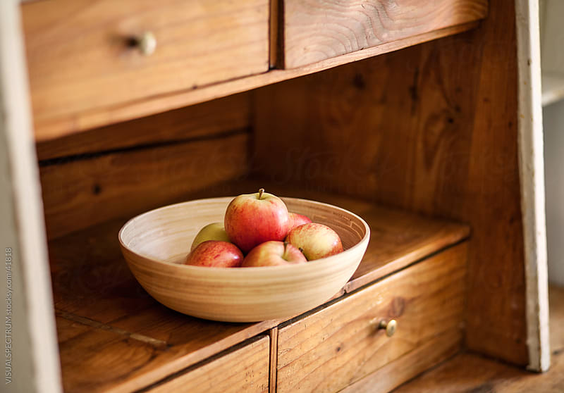 Bowl of Apples by Julien L. Balmer for Stocksy United