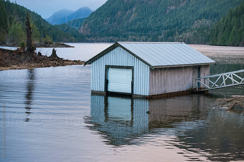 Boat House by Ronnie Comeau for Stocksy United
