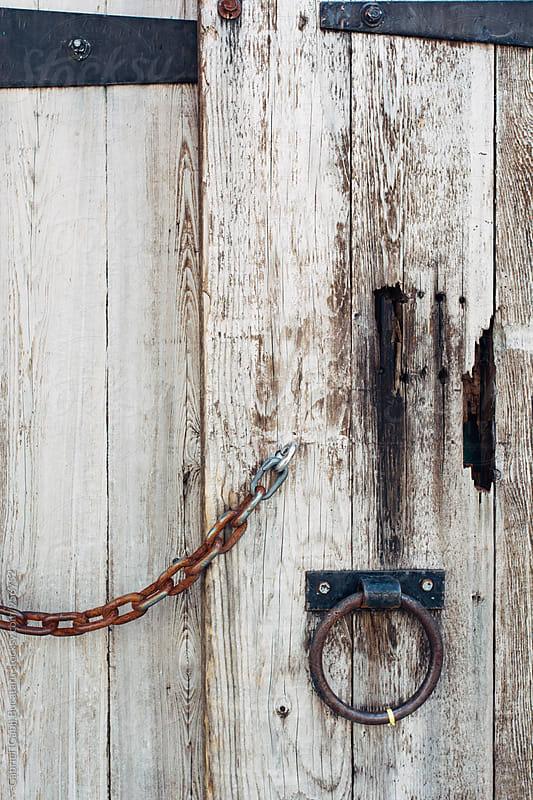 Old wooden barn door by Gabriel (Gabi) Bucataru for Stocksy United