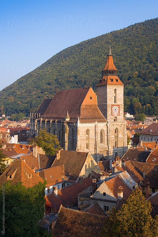 Romania, Transylvania, Brasov, the Black Church by Gavin Hellier for Stocksy United
