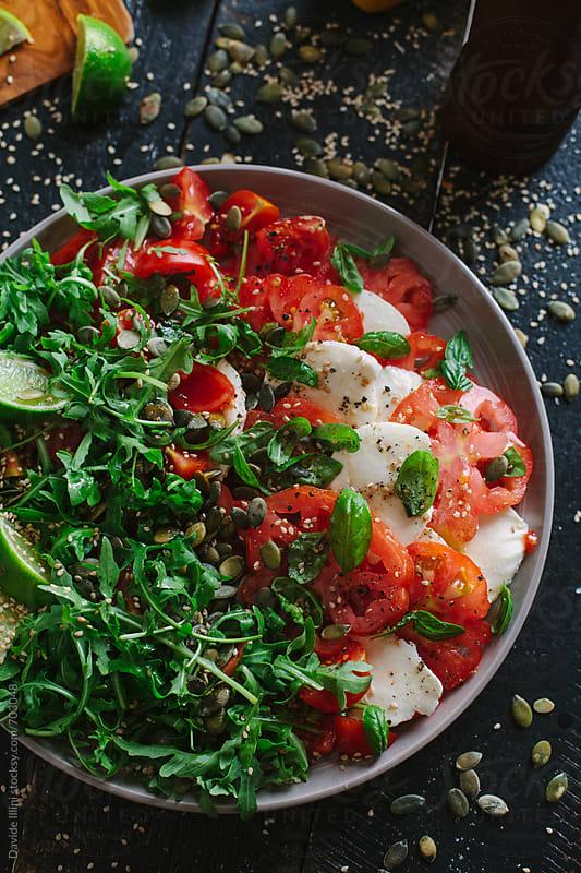 Caprese Salad by Davide Illini for Stocksy United