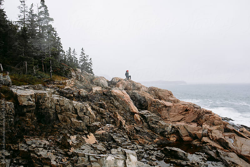 Exploring the Coast of Maine by Brad and Jen Butcher for Stocksy United