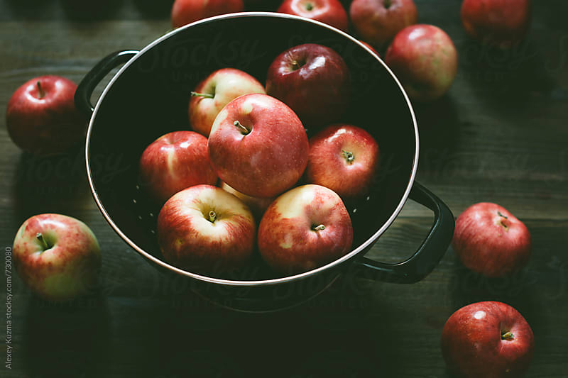 fresh apples. by Alexey Kuzma for Stocksy United