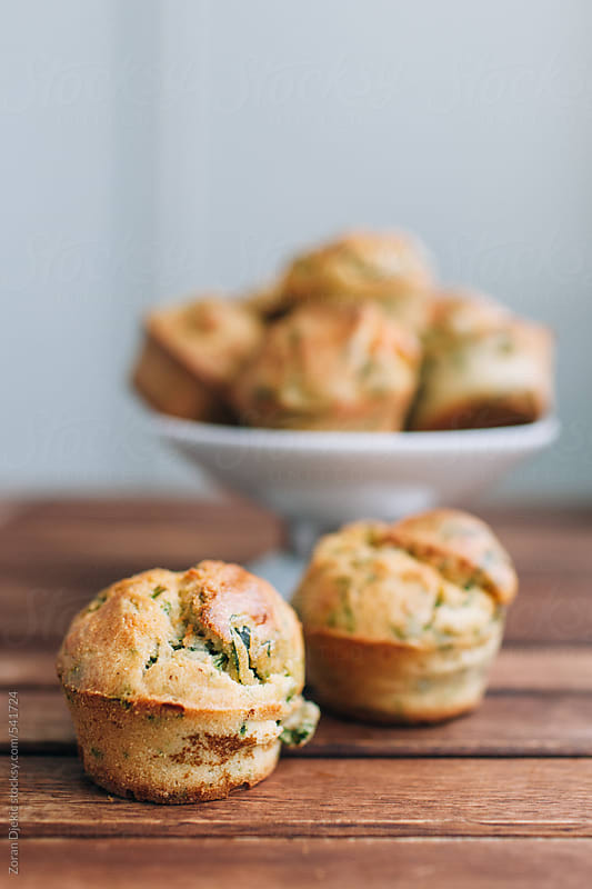 Spinach cakes by Zocky for Stocksy United