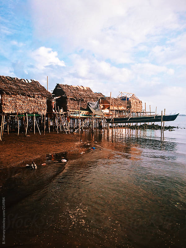 Remote Fishing Village in the Philippines by B. Harvey for Stocksy United