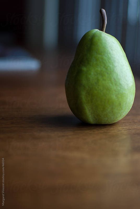 one pear by Margaret Vincent for Stocksy United