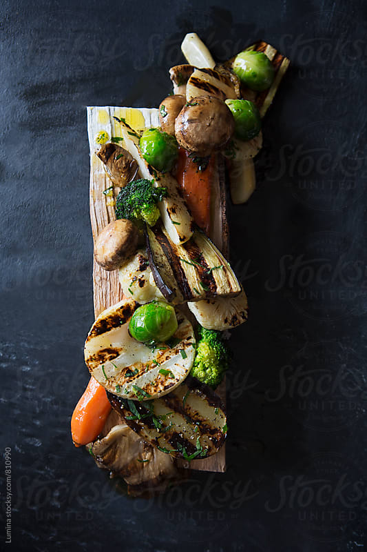 Grilled Vegetables  by Lumina for Stocksy United