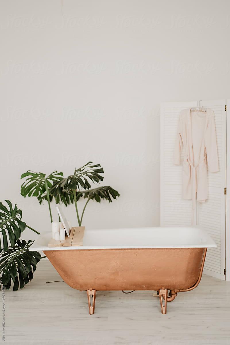 Elegant Design Of Bathroom | Stocksy United