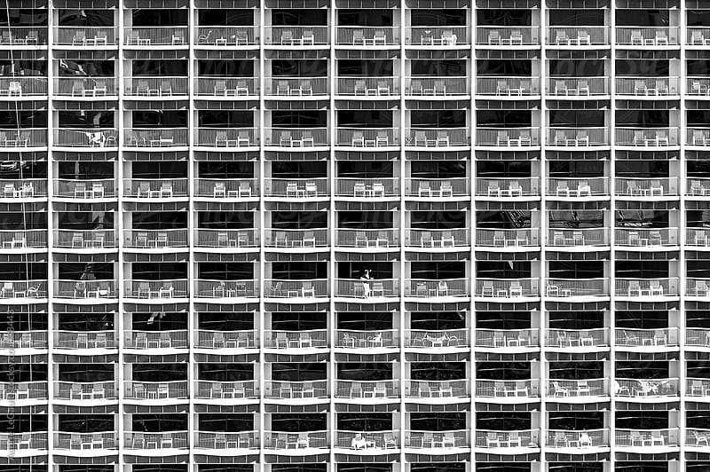 Hotel Balconies by Aubrie LeGault for Stocksy United
