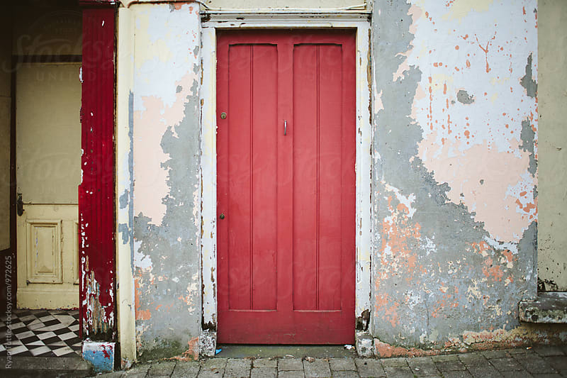 Red Door by Ryan Tuttle for Stocksy United