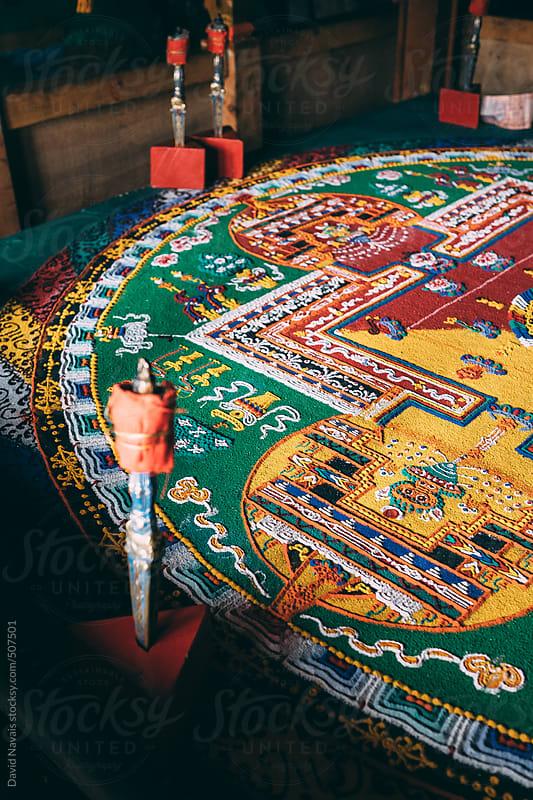 Sand Mandala by David Navais for Stocksy United