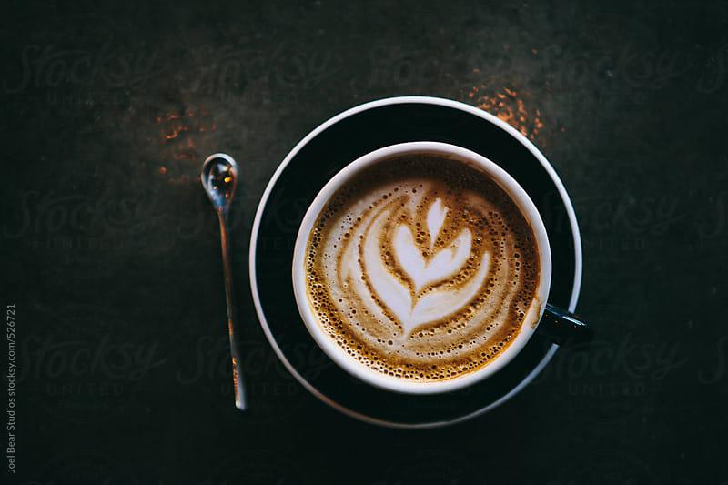 Latte  by Joel Bear Studios for Stocksy United
