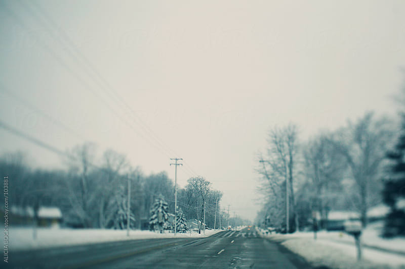 City Streets After A Winter Storm by ALICIA BOCK for Stocksy United