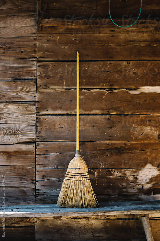 Barn Broom by Raymond Forbes LLC for Stocksy United