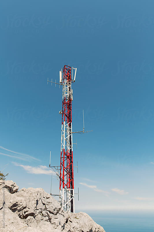 Telecommunications Tower  by Luis Cerdeira for Stocksy United