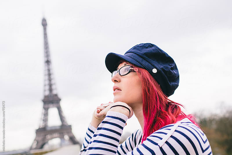 Girl in Paris by michela ravasio for Stocksy United